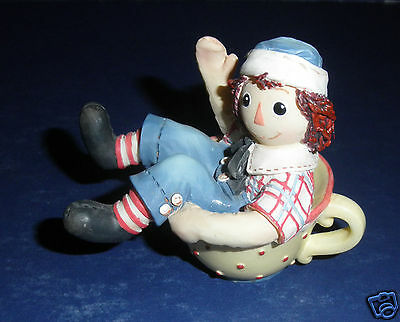 Enesco Raggedy Ann Figurine-New in Box- #823554 Filled to the Brim with Love