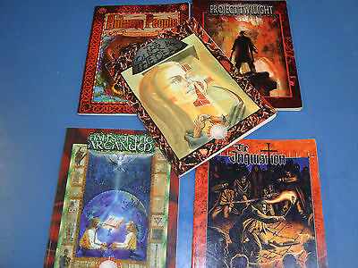 Hunter ww lot 5 White Wolf Books Includes The Quick and the Dead! RPG