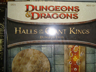 NEW! HALLS OF THE GIANT KINGS DU 1 DUNGEON TILES Dungeons and Dragons
