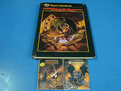 New Miniature Tiny AD&D Books Rare GreyHawk Dragonlance Special Old AD&D Book.