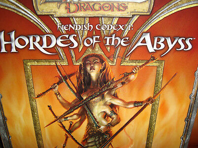 HORDES OF THE ABYSS CODEX 1 New Dungeons and Dragons GAME Book 3.5