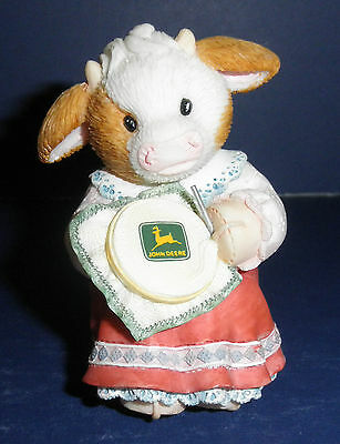 Enesco Mary's Moo Moos -674540- John Deere-Stitched w/Love- New in Box/Retired