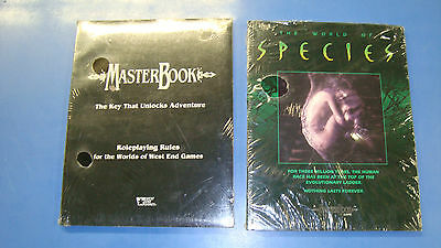 New Sealed Rare! Master Book West End Games The World of Species