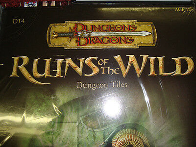 NEW! RUINS OF THE WILD DT 4 DUNGEON TILES New Dungeons and Dragons GAME 3.5