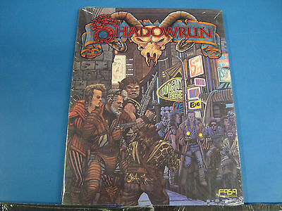 New Shadowrun Collection of Book and Game Screen Underworld Sealed