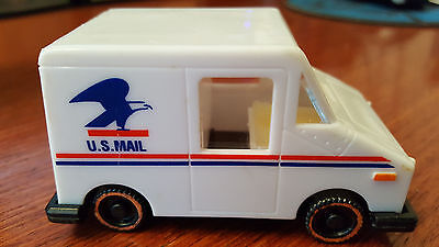 US Post Office Toy Mail Truck Stamp Postage Holder