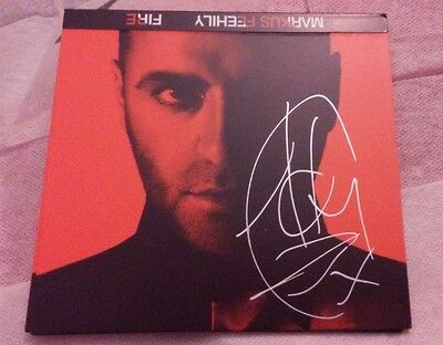 Markus Feehily - *Fire*  ALBUM SLEEVE ONLY Signed / Autographed
