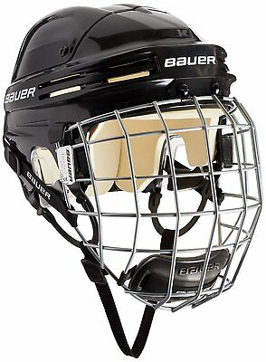 BAUER 4500 ICE HOCKEY HELMET WITH PROFILE II STEEL GRILL / CAGE - XL (61-65 cm)