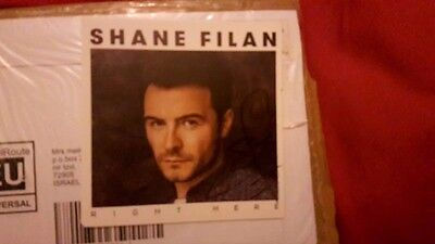 Shane Filan *Right Here* POSTCARD ONLY Signed / Autographed