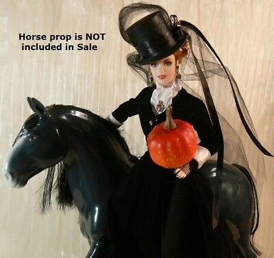 Ghostly Equestrienne CUSTOM Limited Edition DOLL Haunted Specter HALLOWEEN