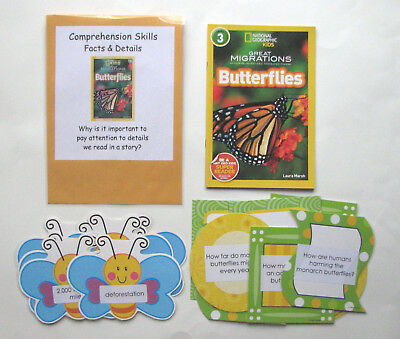 Teacher Made Reading Literacy Resource Center Comprehension Kit Facts & Details