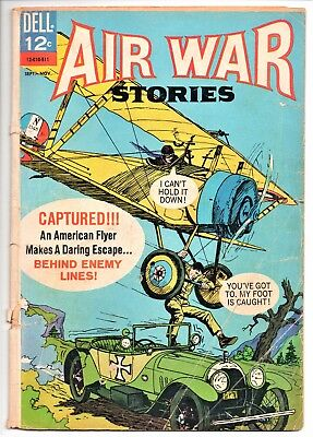 Dell COMICs 1966     Air War Stories  #5      Poor