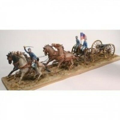 Lindberg 1:16 Scale Horse Drawn Union Field Artillery -The Civil War
