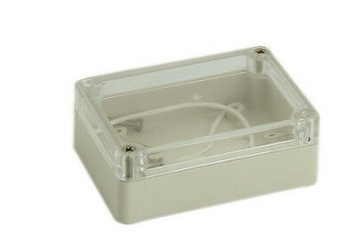 Waterproof Cover Clear Electronic Project Box Enclosure Case 100x68x50mm YG