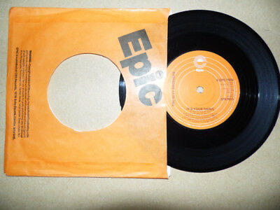 """Isley Brothers - It's Your Thing 7"""" - Epic EX+"""