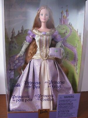 Princess and the Pea Barbie, NRFB,  2000