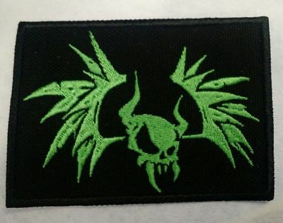 Metallica Embroidered patch IRON/SEW ON Winged horned skull USA Seller