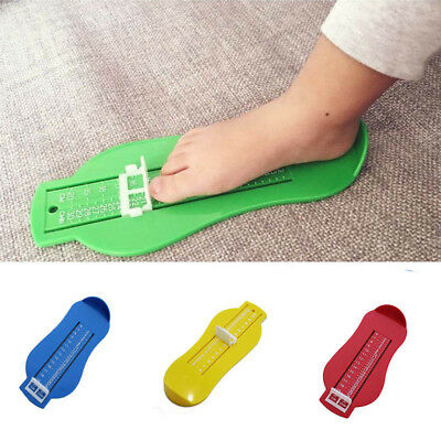 Classic Adjustable Home Children Shoe Sizer Toddlers Kids Handy Foot Measure