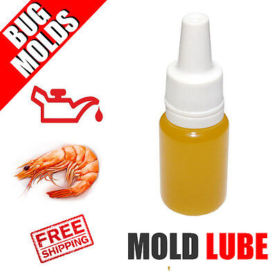 Fishing Lure Mold Lube Lubricant Shrimp smell Lure making 10ml