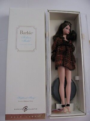 Highland Fling Silkstone Barbie,   NRFB, 2005