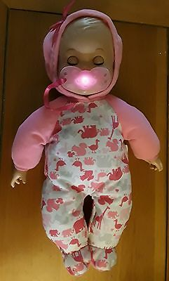 Rare Little Mommy Bedtime Baby Doll EUC Works Perfectly