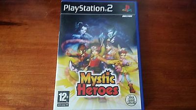 Mystic Heroes (Sony Playstation 2, PS2) Complete RPG PAL