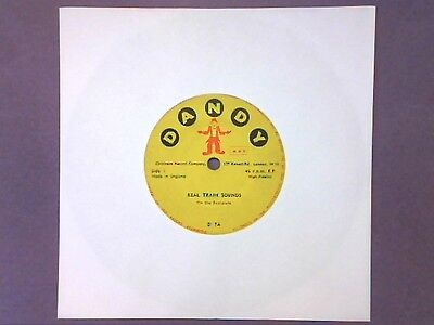 "Real Train Sounds (7"" single) D 7"
