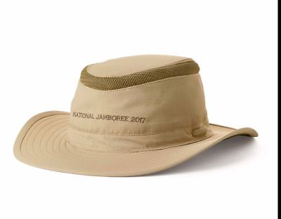 Boy Scout Official 2017 National Jamboree Floating Embroidered Cap Hat Sz Medium