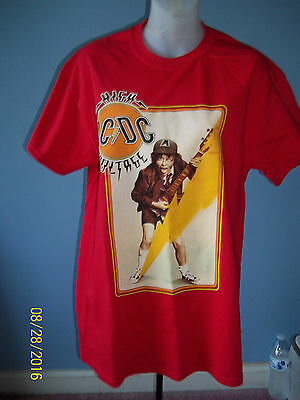 "AC DC, rock-shirt,""High Voltage"" unisex size adult M"