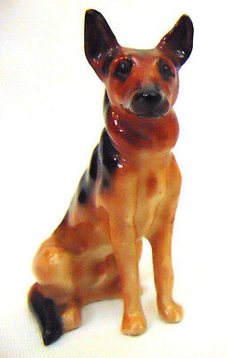 "Vintage Royal Doulton Alsation German Shepherd Dog K13 Figurine 3"" Tall England"
