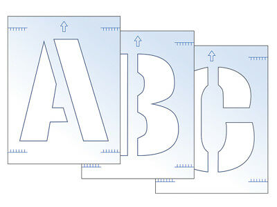 Scan SCA9417 Letter Stencil Kit 300mm FREE POST