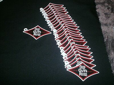 25 Old Guys Rule The Older I Get..better I Was Red Diamond Beach Decal Stickers
