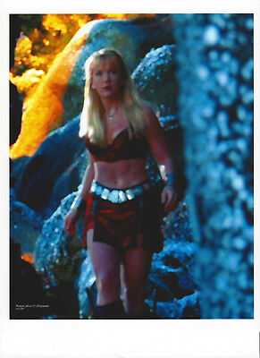XENA 8.5 x 11 montage photo by ANNE C FERGUSON ~DIGITALLY ALTERED NORSE TRILOGY