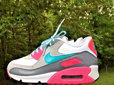 NIKE AIR MAX 90 ULTRA Girls YOUTH ATHLETIC TENNIS Running Walking SHOES SIZE 3