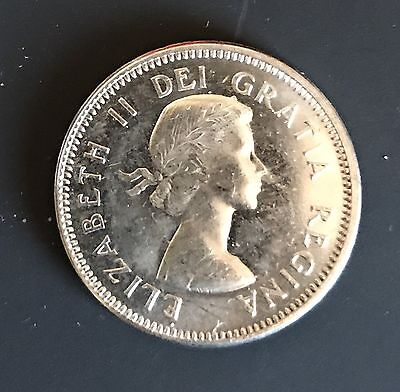 Canada 1964 Nickel Unc. Canadian 5 Cent Piece 5c Five Cents