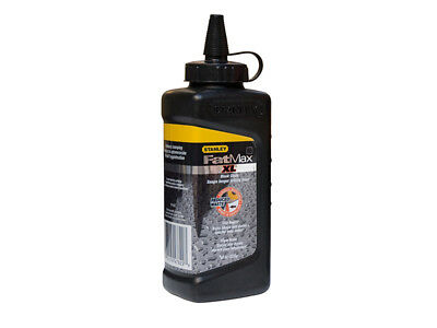 Stanley Tools STA947822 FatMax XL Square Bottle Chalk Refill 225g Black