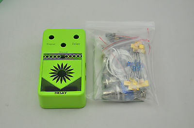 Make your Delay pedal all kit -1590B Guitar Pedal Enclosure And Delay PCB More