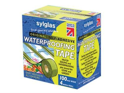 Sylglas SYLWT100 Waterproofing Tape 100mm x 4m FREE POST