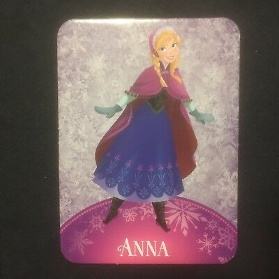 Disney Frozen. Trading cards Large thick firm. 10 x 7 cm  New. Anna by herself