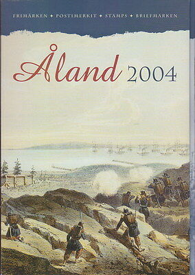 Aland Finland Official Complete Year Set 2004 MNH **