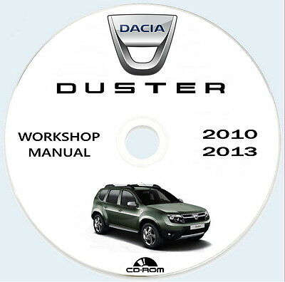 Workshop Manual Dacia DUSTER,Manuale Officina Renault Dacia DUSTER 2010/2013