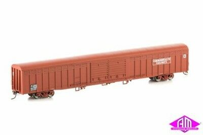AUSCISION SLV-2 ABFX Louvered Van, Commonwealth Railways Maroon 4 Car Pack