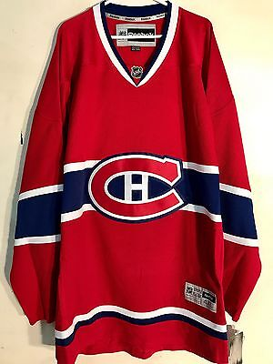 NHL Montreal Canadiens Premier Hockey Sur Glace Maillot Jersey