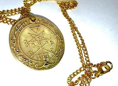 LILITH TALISMAN SOLID BRASS Demonolatry Satan Magic Goetia Occult Magick/