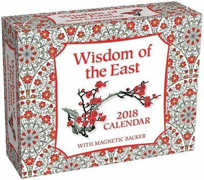Wisdom of the East 2018 Mini Day-to-Day Boxed Calendar by Andrews McMeel