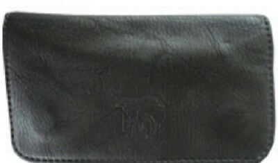 Tobacco Case Pouch Synthetic Leather Wallet Bag Smoke Rolling Black