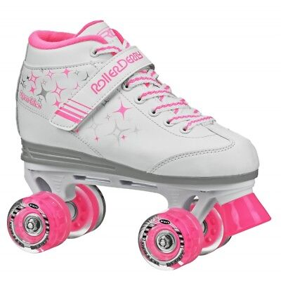 Roller Derby Sparkles Girl's/kids Roller/quad Skates With Lighted Wheels Us J13
