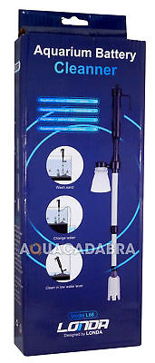 Aquavac Battery Aquarium Vacuum Gravel Cleaner Water Syphon Fish Tank