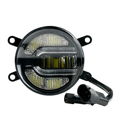 2 in 1 Daytime Running Lights And Fog Light with Approval 12/24V Mitsubishi Top