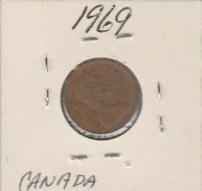 Canada 1969 One Cent